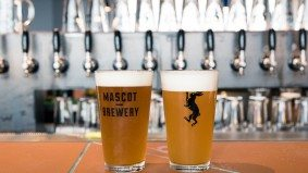 What's on the menu at Mascot Eatery, a restaurant and brewery with a rooftop beer garden
