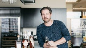 Inside alcohol distributor Corby's liquor-filled King West office