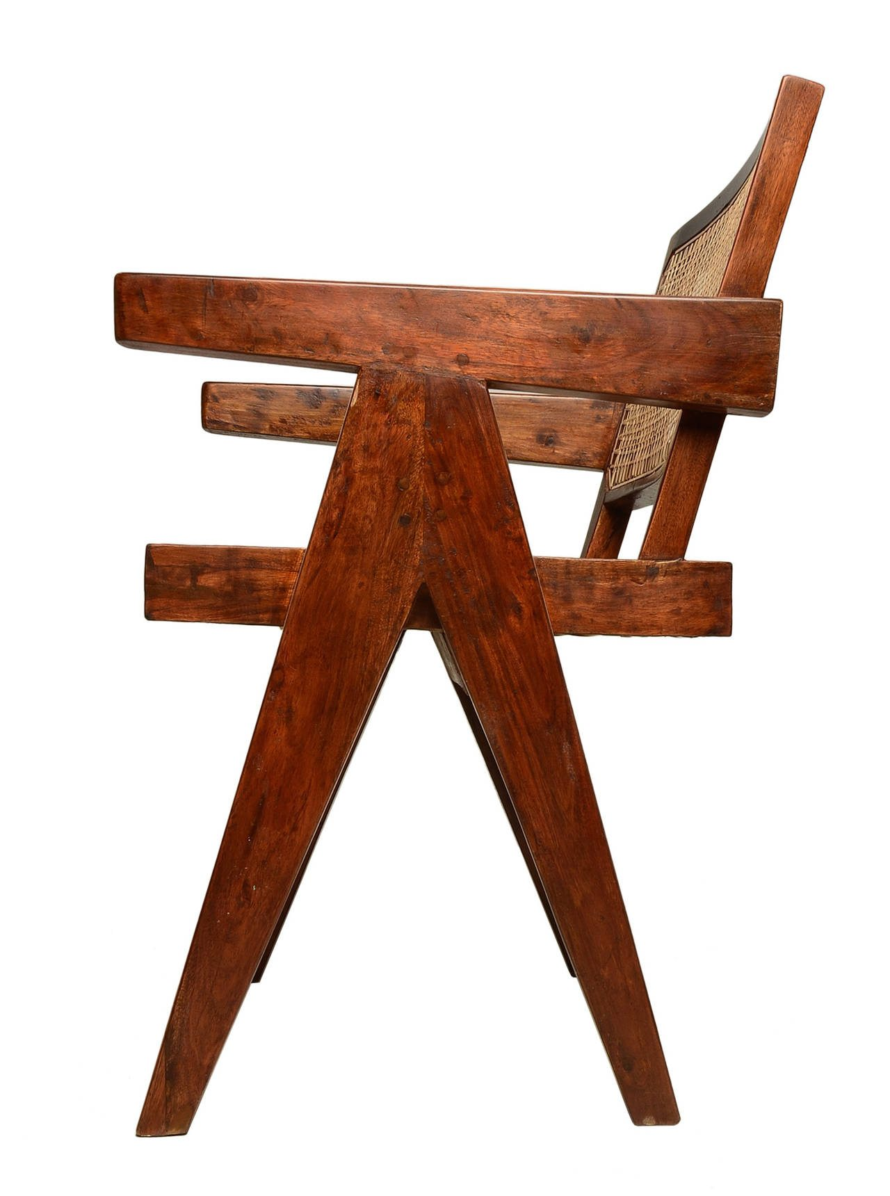 Armchair by Pierre Jeanneret donated by Porch Modern