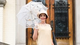 Street Style: The Gatsby Garden Party at the Spadina Museum
