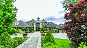 A pharma magnate is selling his lakeside Oakville estate for $18.9 million