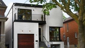 House of the Week: $3 million for a modern Leaside new-build with lots of skylights