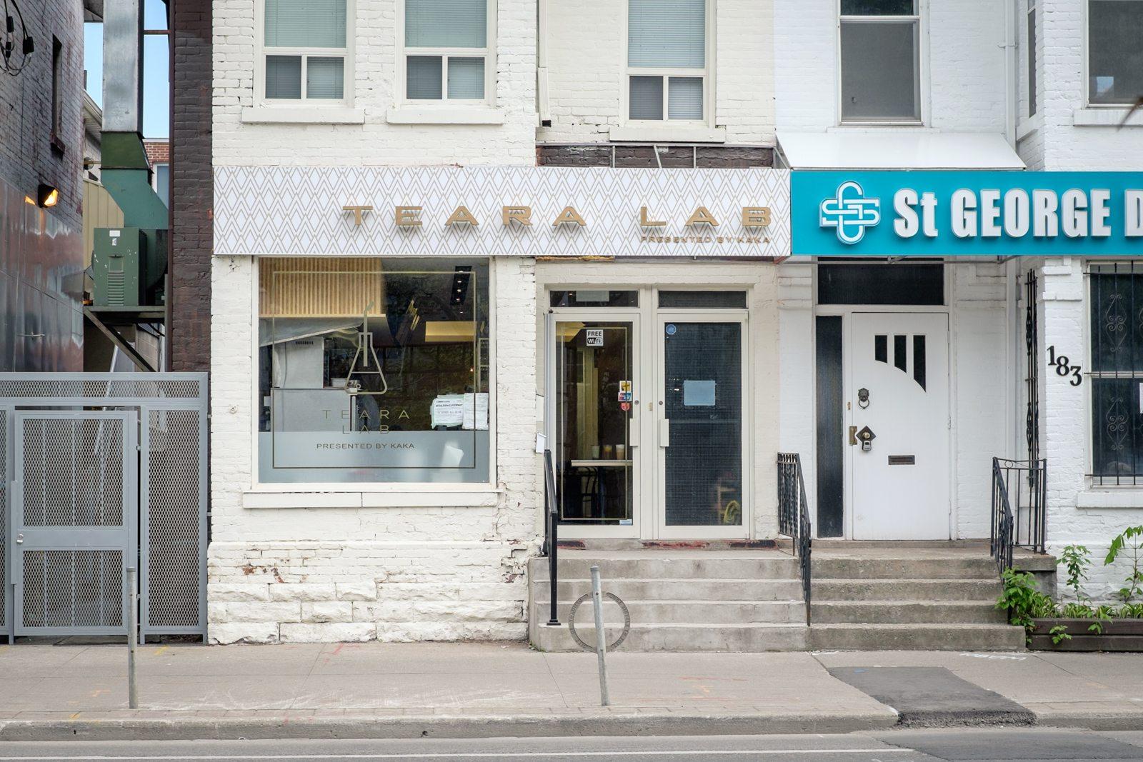 toronto-restaurants-teara-lab-japanese-sandwiches-university-exterior