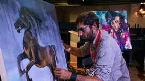 These nine artists can pump out stunning paintings in 20 minutes flat