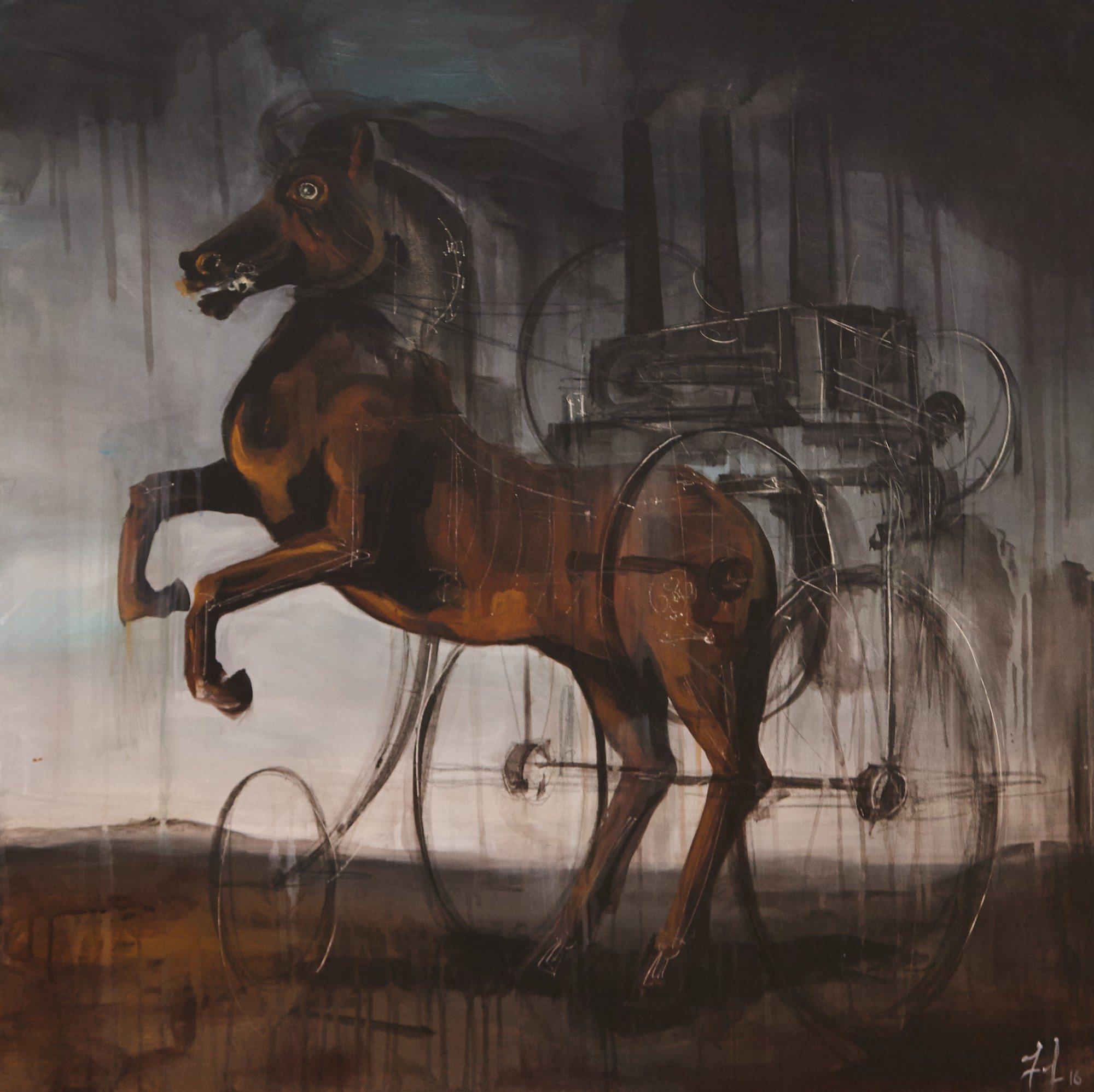 Art-Battle-Frederick-Ouellet-The Machine
