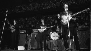 Seven rare vintage photos from the Beatles' Toronto concerts