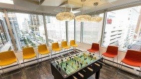 Inside MasterCard's Yorkville office, where not even the president has an office