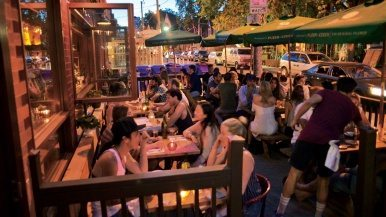 Toronto's best new patios with great late-night menus