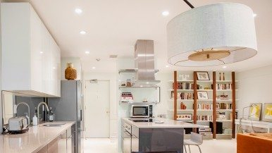 How a design team turned a dated, stuffy Rosedale condo into a luxe, airy space