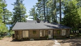 Cottage of the Week: $2 million for a rustic log cabin on Lake of Bays