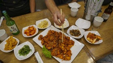 Where Omaw's Matt Blondin and Jump's Sean Kim eat Korean food in the burbs