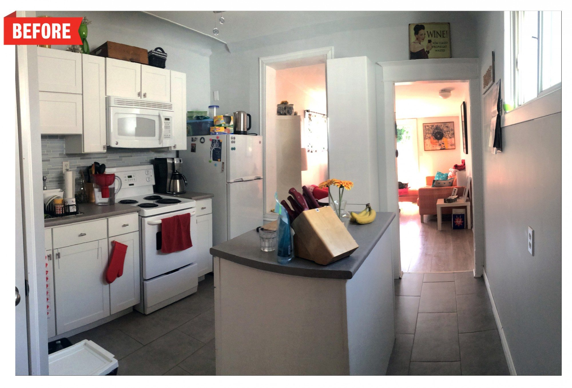 toronto-house-staging-1959-dundas-street-east-kitchen-before