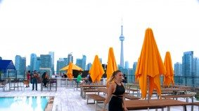 A tour of Lavelle, King West's new 16,000-square-foot rooftop lounge with a swimming pool