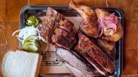 What's on the menu at Cherry Street Bar-B-Que, a massive new smokehouse