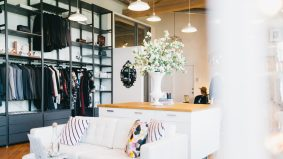 Inside PR firm Faulhaber's Liberty Village office, with free candy, a mini studio and free lipstick