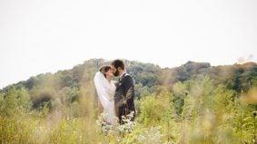 Real Weddings 2016: Inside a laid-back, DIY everything Brickworks bash