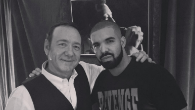 Drake's summer of shameless selfies is filled with the most random celebs