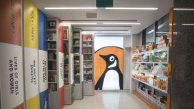 Inside Penguin's bright, beautiful new bookstore