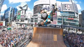 How Tony Hawk built a 14-foot half-pipe in Yonge-Dundas Square