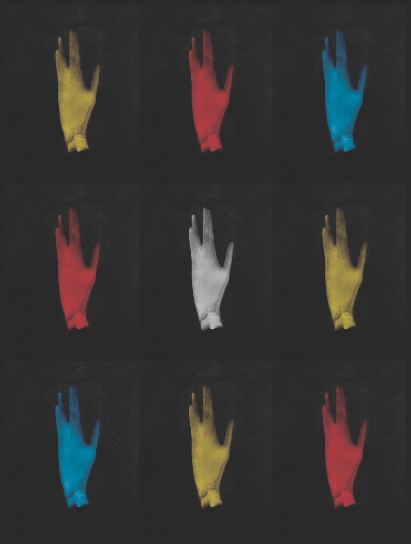 Leonard Nimoy, Hand in Vulcan Gesture