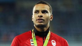 Andre De Grasse's Instagram is all business