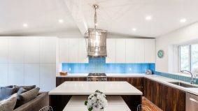 How a designer built a snazzy kitchen out of a closed-off space in a Don Mills bungalow