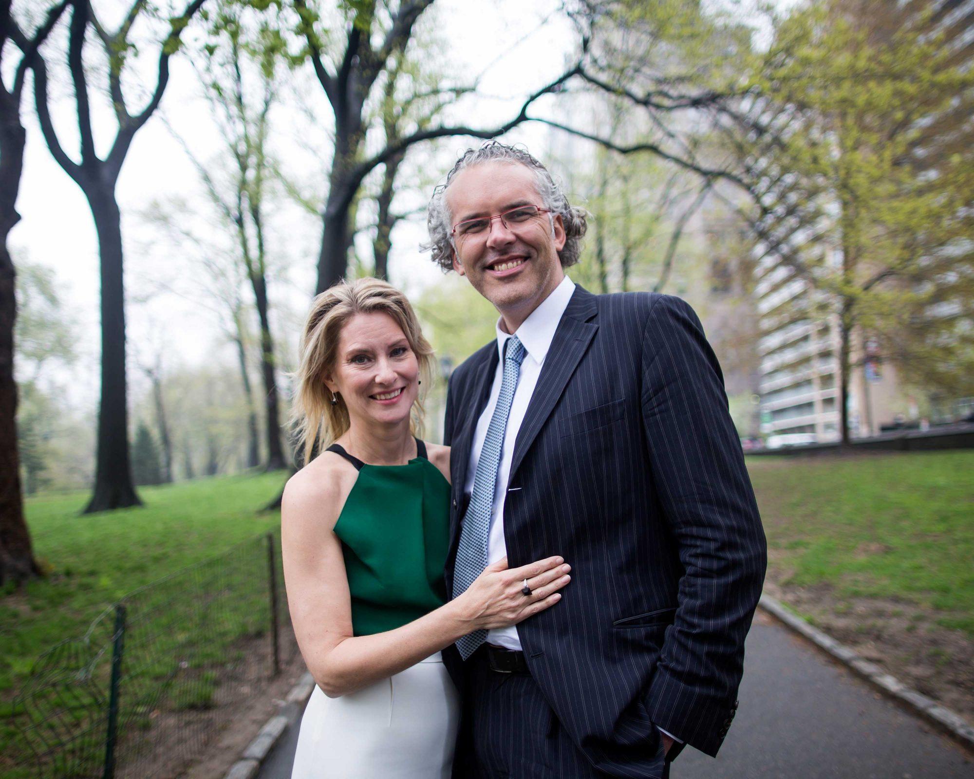 Eleanor McCain and Jeff Melanson