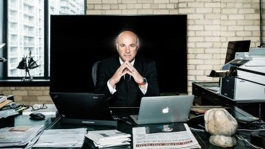 Kevin O'Leary is a blowhard, a relentless self-promoter and, maybe, Canada's future leader