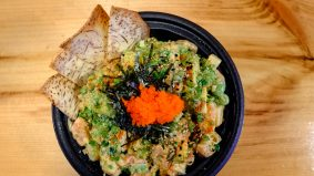What's on the menu at Big Tuna Poke Bar, the city's first poke restaurant