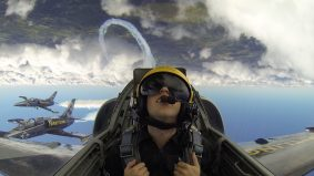 I pulled a <em>Top Gun</em> and took a test flight with a CNE air show jet team