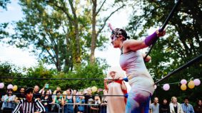 These wild and wacky lady wrestlers are turning Toronto Island into a circus of hurt this weekend