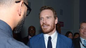 Michael Fassbender dazzled fans (and then disappeared) at TIFF's official launch party