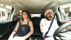 Watch Jus Reign and tech star Amber MacArthur drive around Toronto