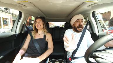 Watch Jus Reign and tech star Amber MacArthur drive around Toronto