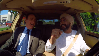 Watch Jus Reign and 6ix Dad Norm Kelly drive around Toronto