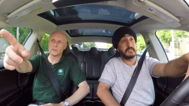 Watch Jus Reign and TTC CEO Andy Byford drive around Toronto