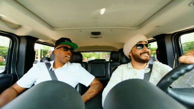 Watch Jus Reign and Kardinal Offishall drive around Toronto