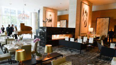 Inside the Shangri-La's gorgeous new lounge