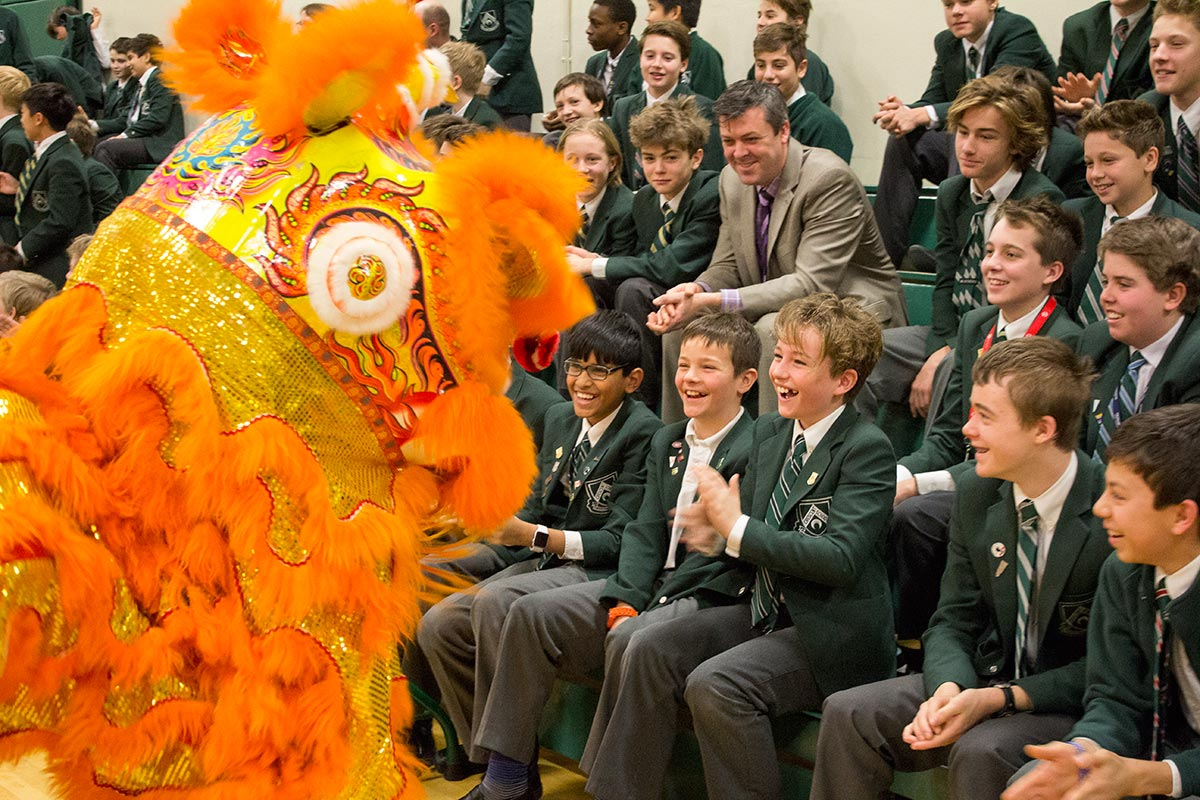 Crescent School Lunar New Year Assembly