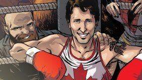 The story behind Justin Trudeau's Marvel Comics cameo