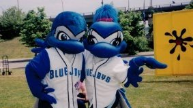 The coolest job I ever had was being a Toronto Blue Jays mascot