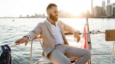 Toronto's Best Dressed: Bespoke-loving Bay Streeter Michael Levine