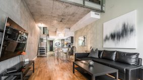 Rental of the Week: $6,000 a month to live in a concrete loft near King West