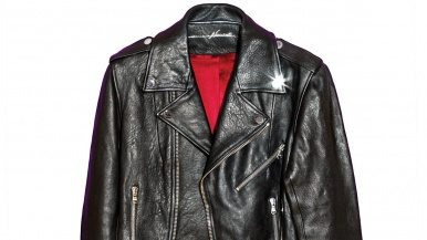 The classic leather jacket gets a bespoke makeover on Dupont