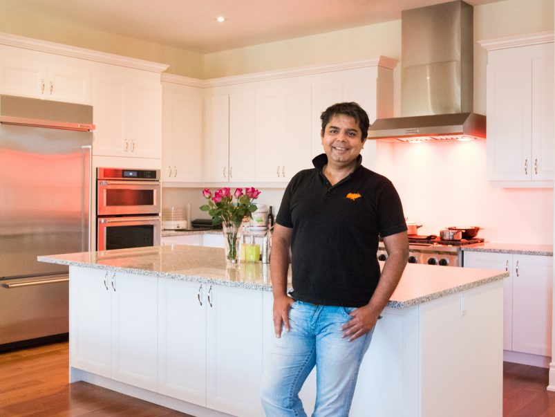 Inside the kitchen of Amaya and Indian Street Food Co. owner and chef, Hemant Bhagwani