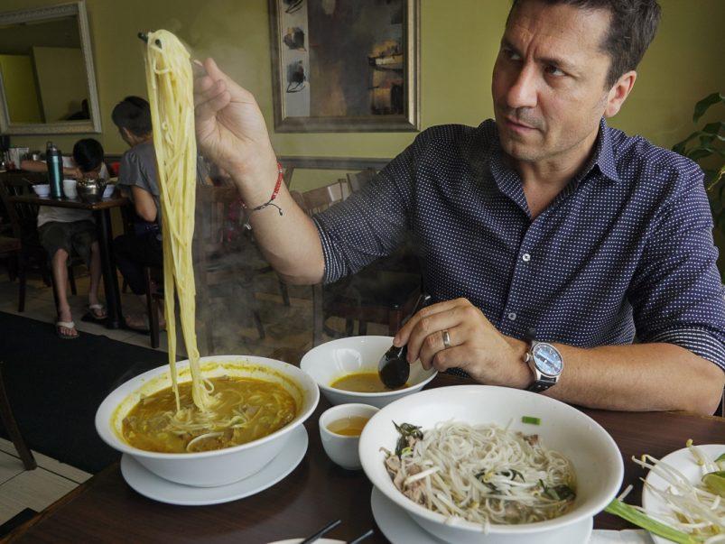 Where Origin and <em>MasterChef Canada</em>'s Claudio Aprile eats in the burbs