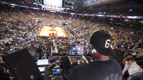 Here's what it's like to DJ a Raptors game