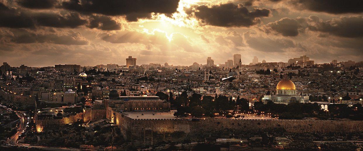 Jerusalem - Dreamscapes by David Drebin