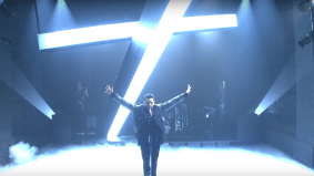 Four moments you missed from The Weeknd's stellar <em>Saturday Night Live</em> performance