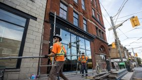 Here's what the Broadview Hotel (formerly Jilly's strip club) looks like now